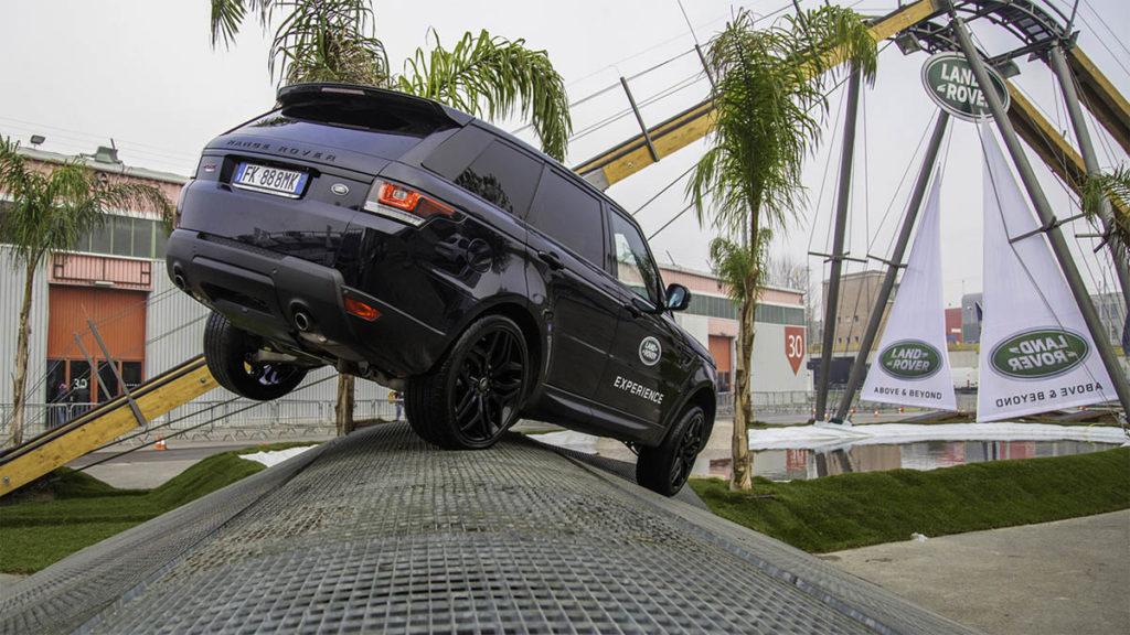 Dosso Metallico Land Rover Experience Italia