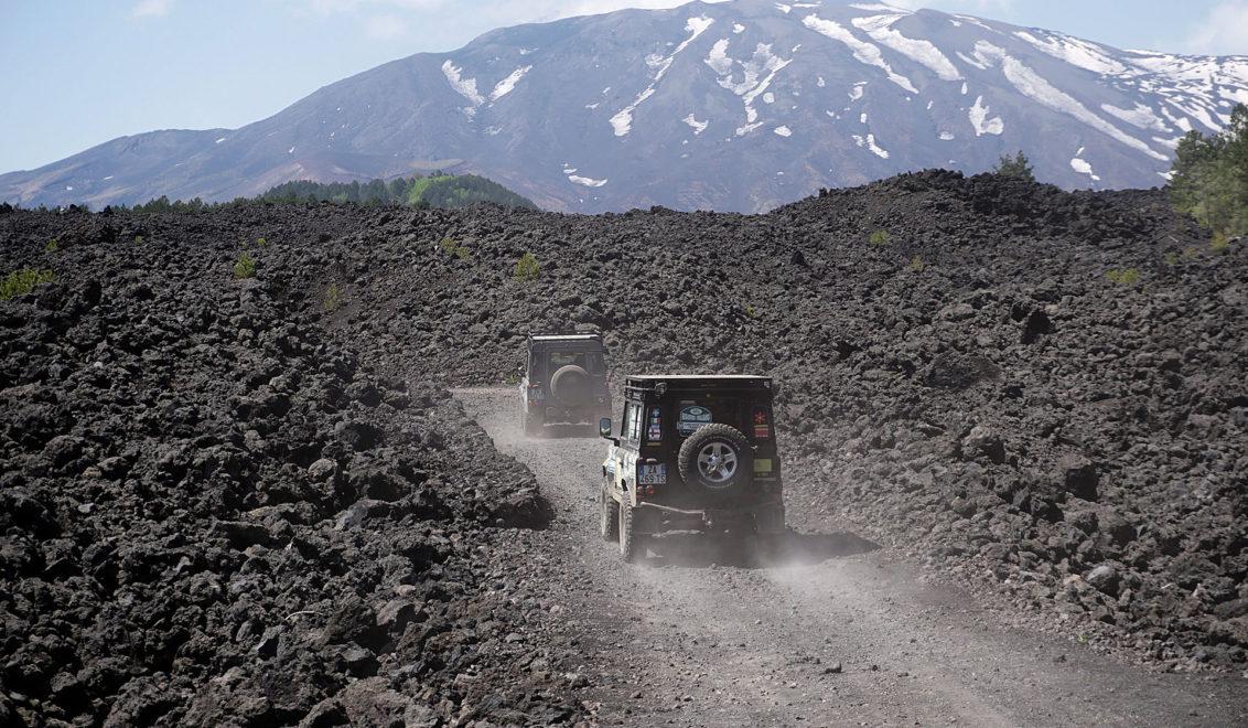 Land Rover Tour Sicilia 2020 - Land Rover Experience Italia - Registro Italiano Land Rover