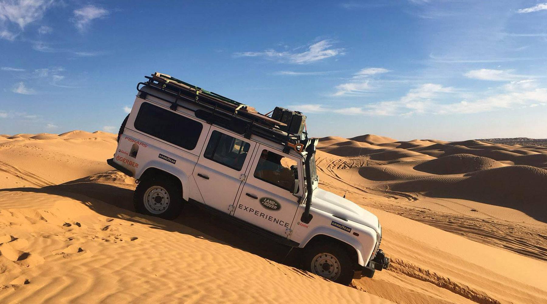 Tunisia Land Rover Experience Italia