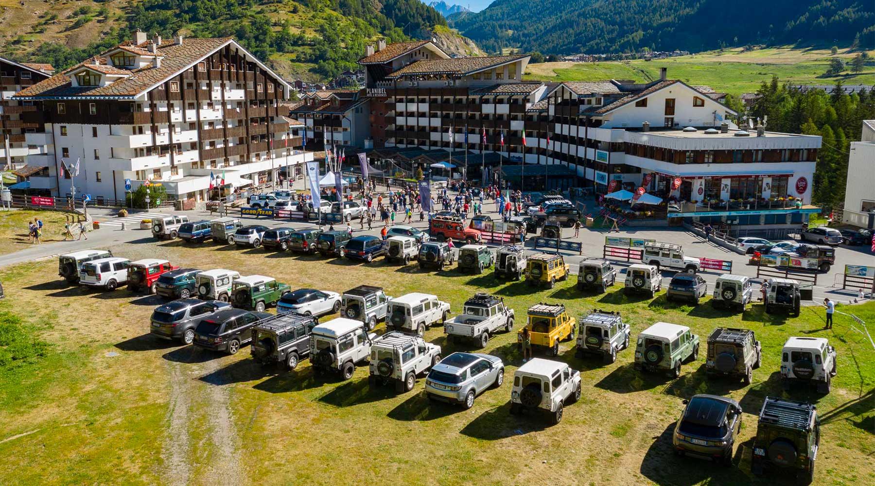 Gallery Land Rover Day Valle d'Aosta - Land Rover Experience Italia