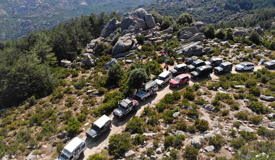 Land Rover Tour Sardegna 2020