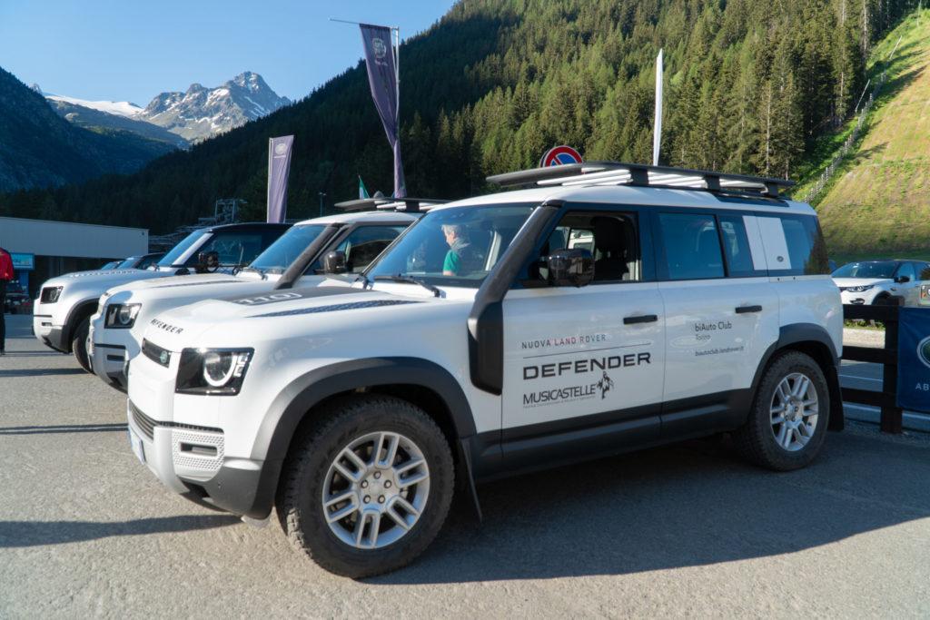 Land Rover Day Valle d'Aosta – La Thuile – 02 Land Rover Experience Italia
