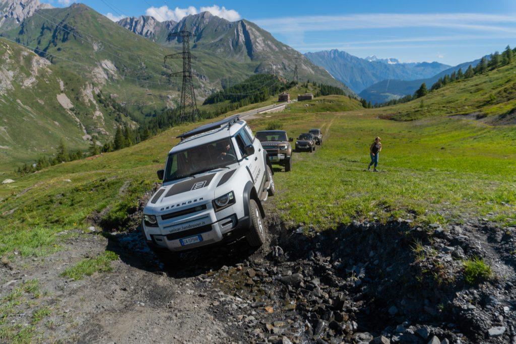 Land Rover Day Valle d'Aosta – La Thuile – 02 Land Rover Experience Italia-17