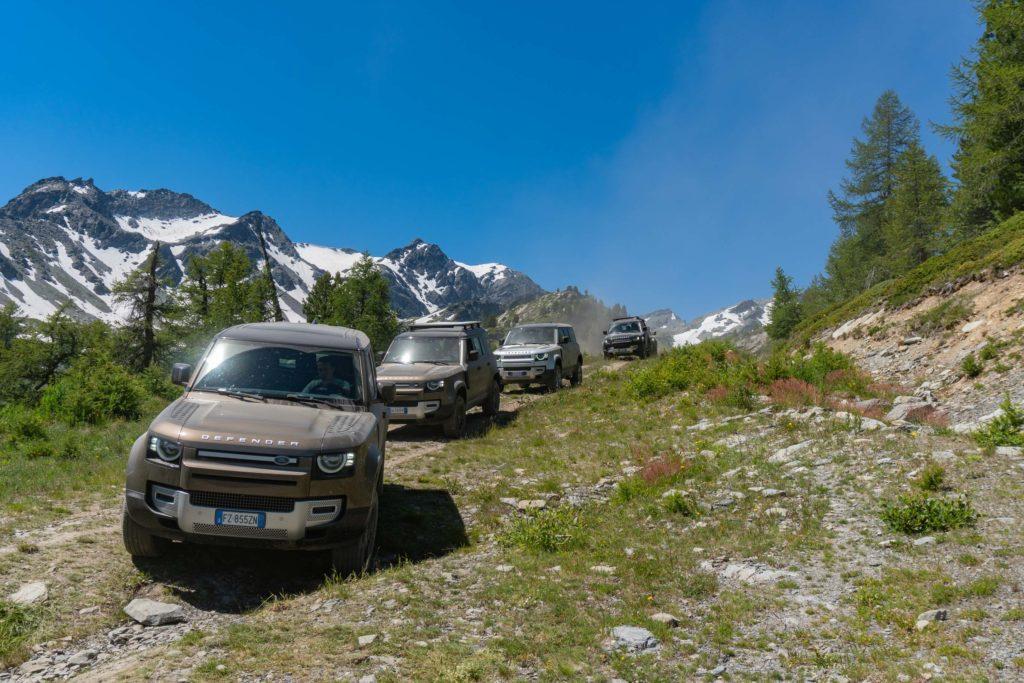 Land Rover Day Valle d'Aosta – La Thuile – 02 Land Rover Experience Italia-35