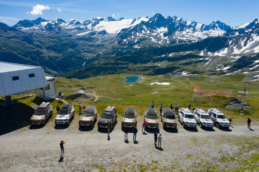 Land Rover Day Valle d'Aosta – La Thuile – 02 Land Rover Experience Italia Drone-10