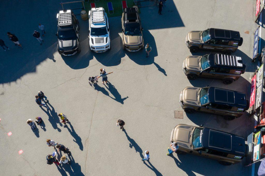 Land Rover Day Valle d'Aosta – La Thuile – 02 Land Rover Experience Italia Drone