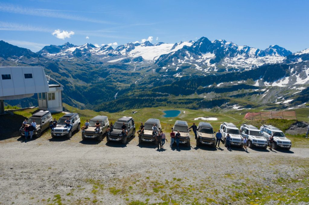 Land Rover Day Valle d'Aosta – La Thuile – 02 Land Rover Experience Italia Drone-11