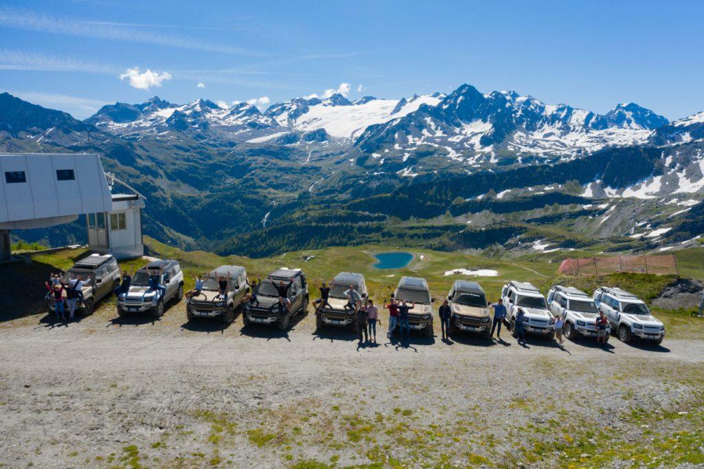 Land Rover Day Valle d'Aosta – La Thuile – 02 Land Rover Experience Italia Drone-12