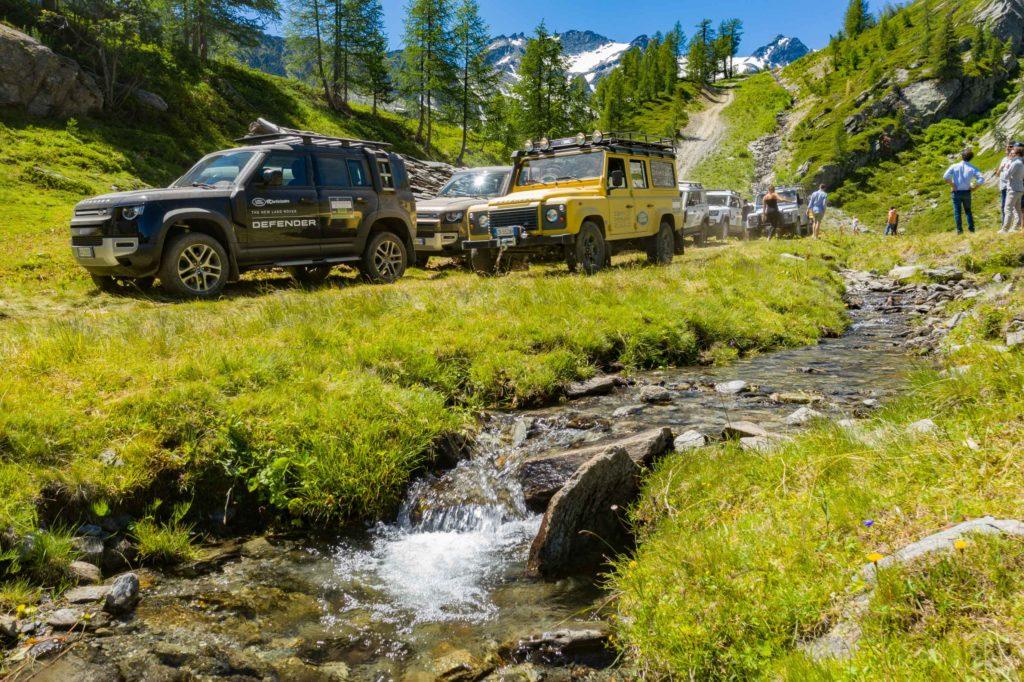 Land Rover Day Valle d'Aosta – La Thuile – 02 Land Rover Experience Italia Drone-13