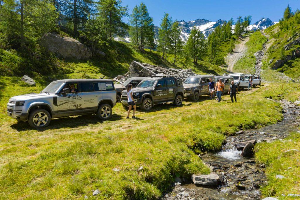 Land Rover Day Valle d'Aosta – La Thuile – 02 Land Rover Experience Italia Drone-14