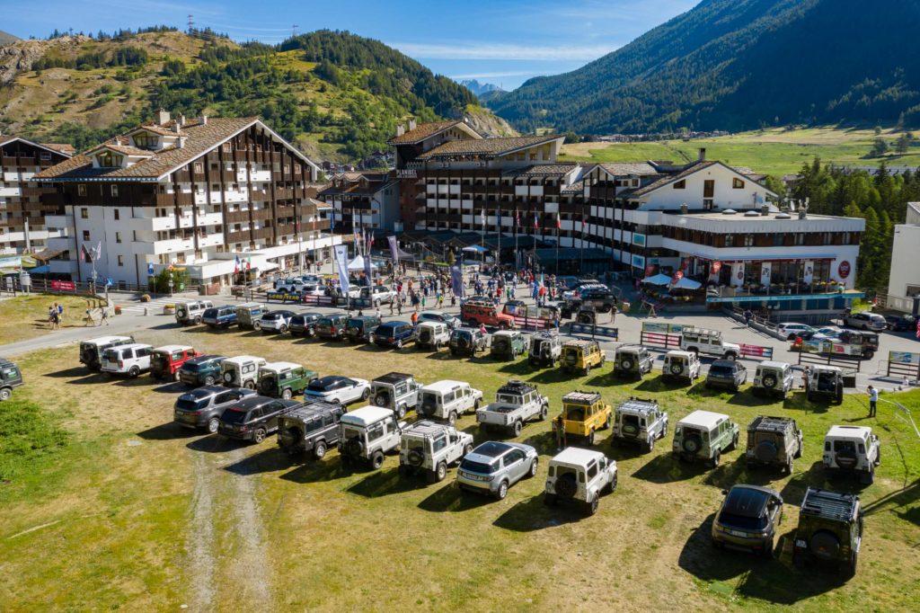 Land Rover Day Valle d'Aosta – La Thuile – 02 Land Rover Experience Italia Drone-2