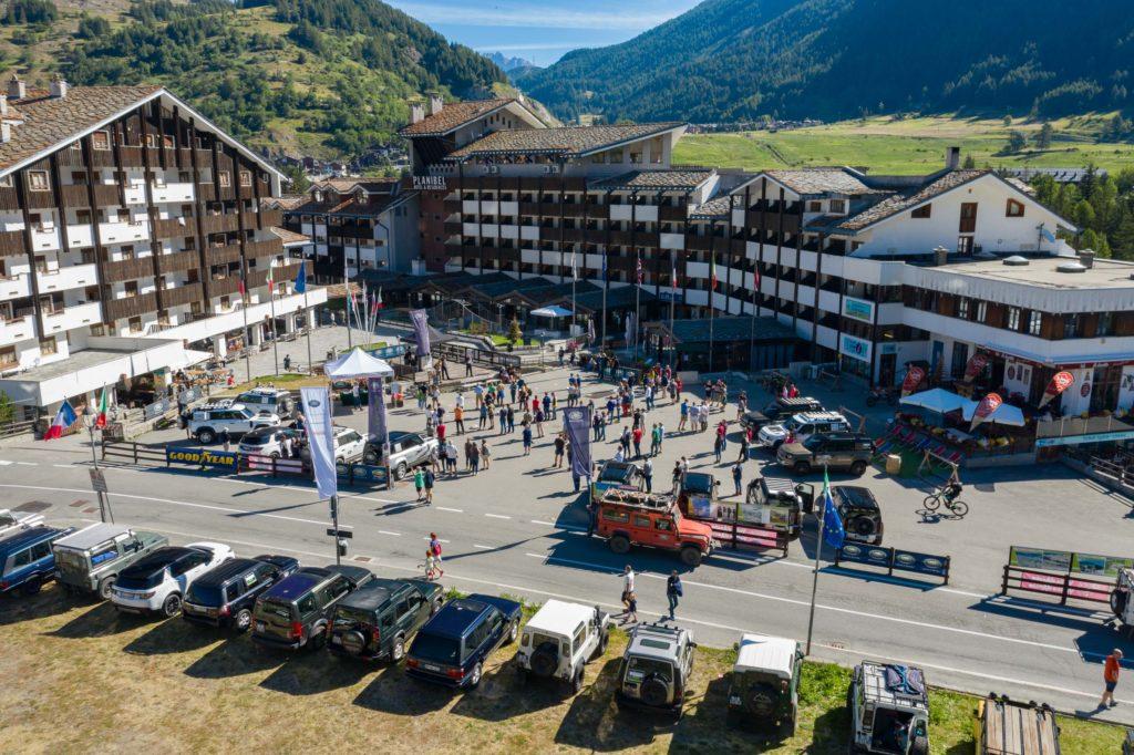 Land Rover Day Valle d'Aosta – La Thuile – 02 Land Rover Experience Italia Drone-3