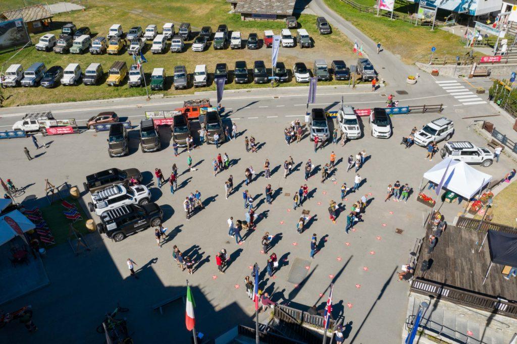 Land Rover Day Valle d'Aosta – La Thuile – 02 Land Rover Experience Italia Drone-4