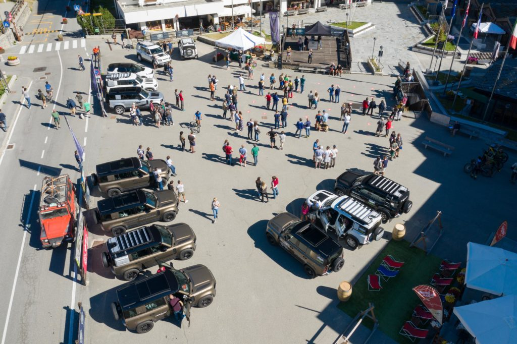 Land Rover Day Valle d'Aosta – La Thuile – 02 Land Rover Experience Italia Drone-6