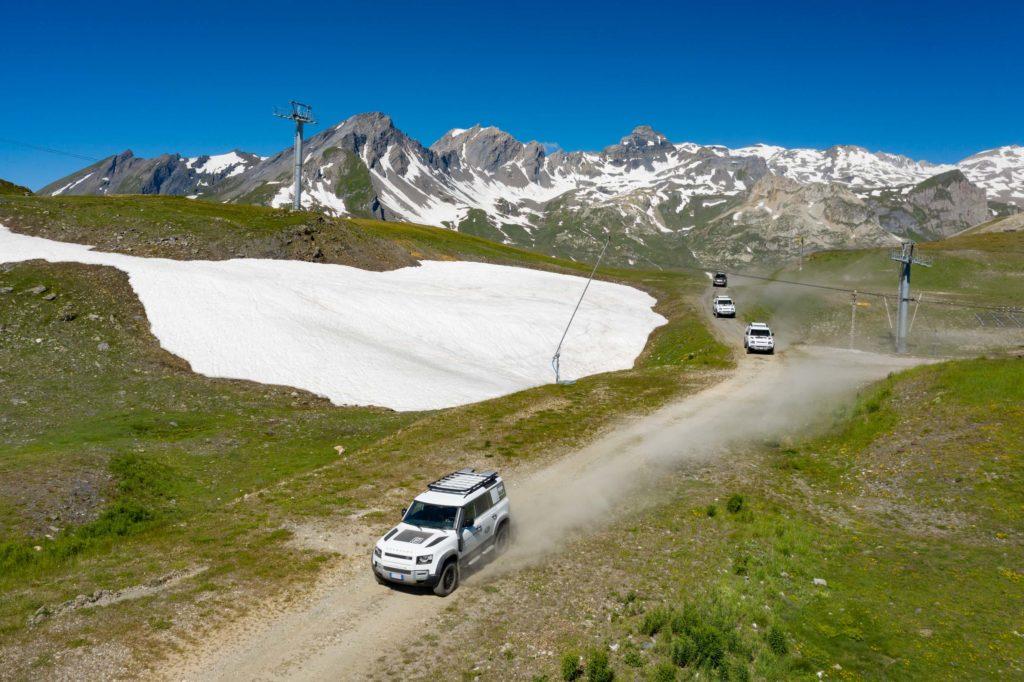 Land Rover Day Valle d'Aosta – La Thuile – 02 Land Rover Experience Italia Drone-7