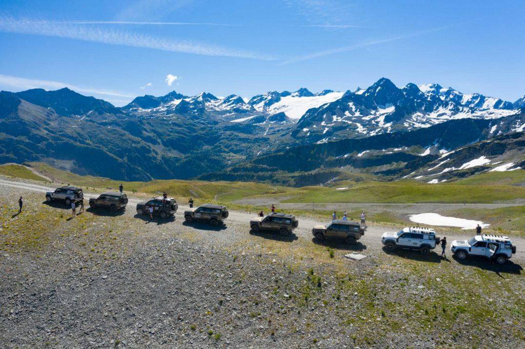 Land Rover Day Valle d'Aosta – La Thuile – 02 Land Rover Experience Italia Drone-8