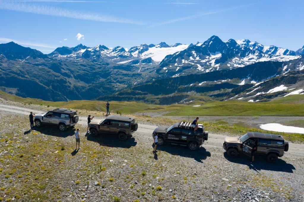 Land Rover Day Valle d'Aosta – La Thuile – 02 Land Rover Experience Italia Drone-9