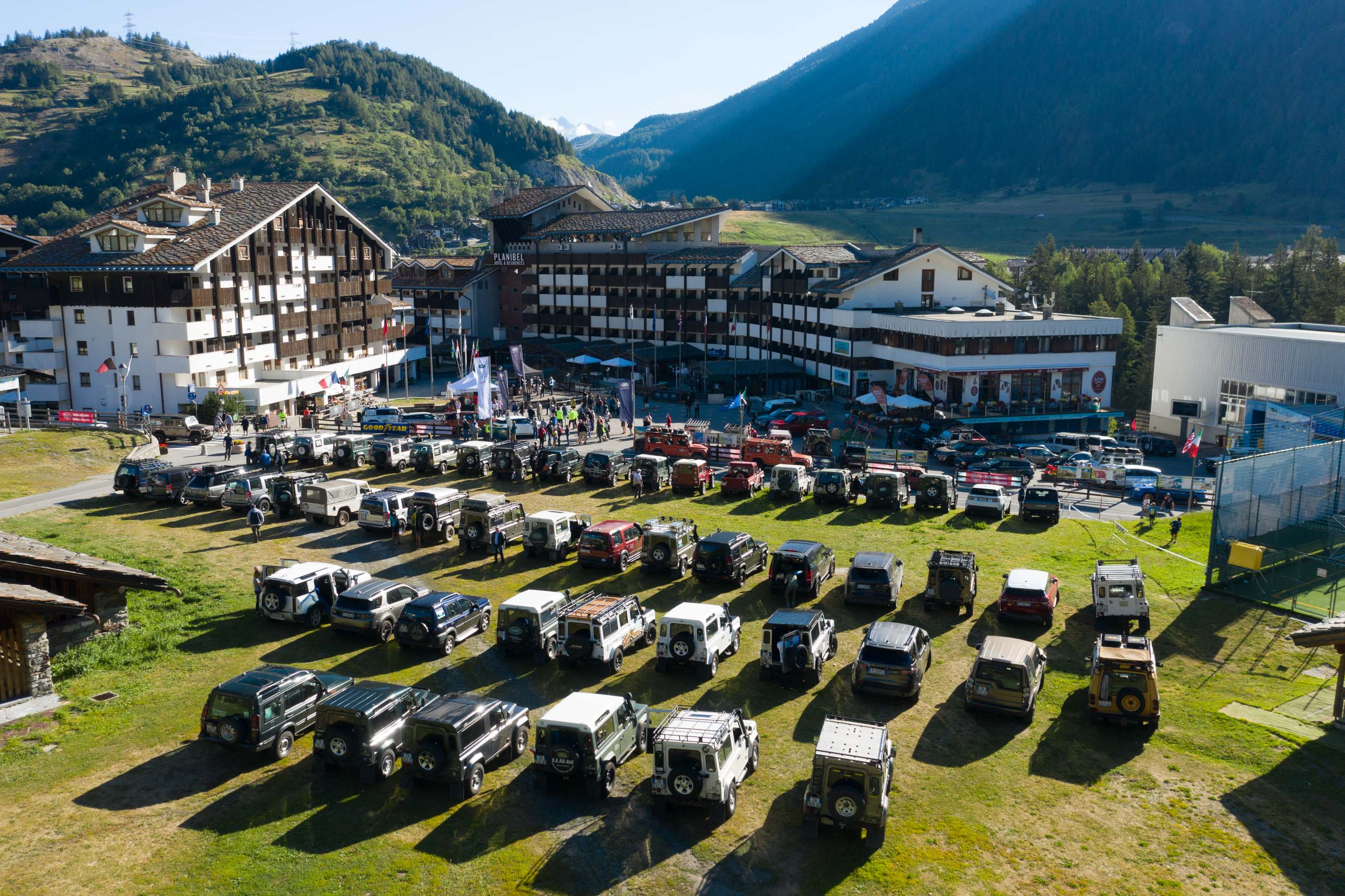 Land Rover Day Valle d'Aosta- Land Rover Experience Italia - Registro Italiano Land Rover