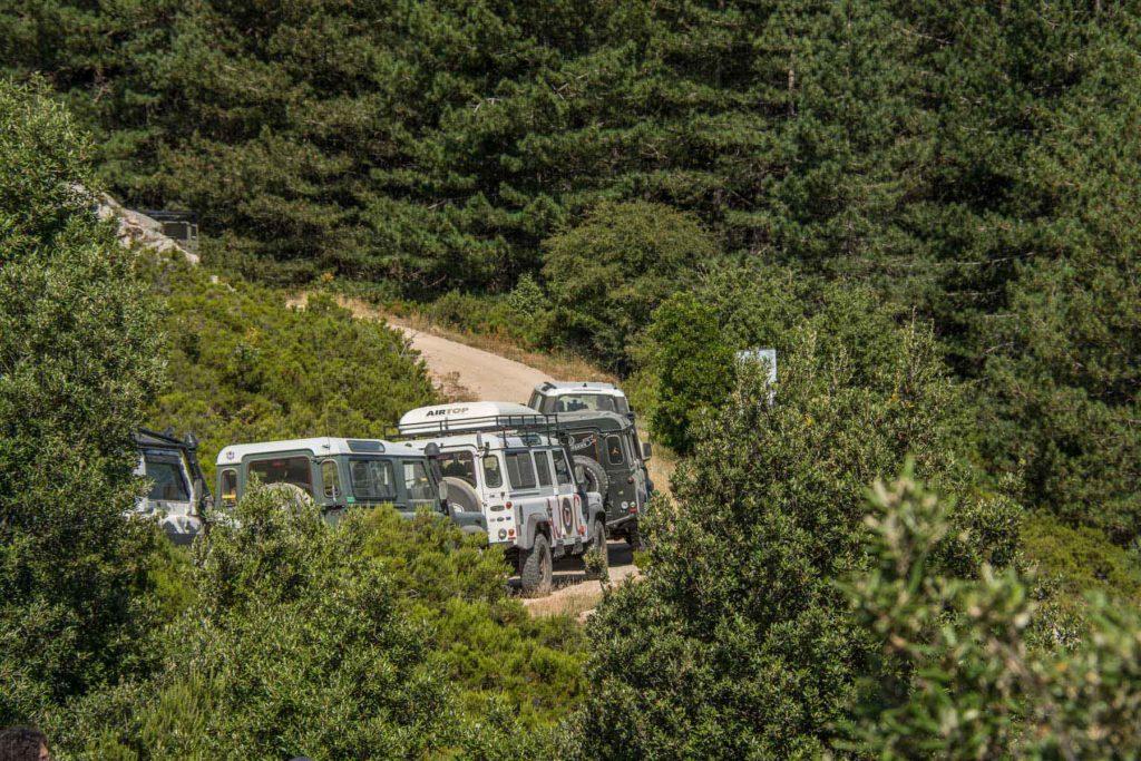 Land Rover Tour Sardegna 2020 – Tappa 01 – Land Rover Experience Italia – Registro Italiano Land Rover